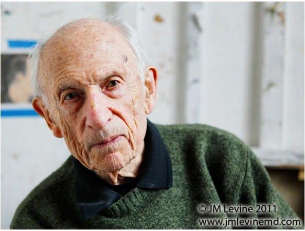 Will Barnett, centenarian, 100 years old, Jeffrey-M-Levine-MD; Jeff-Levine, Dr-Jeffrey-Levine, Jlevinemd, levineartstudio,
