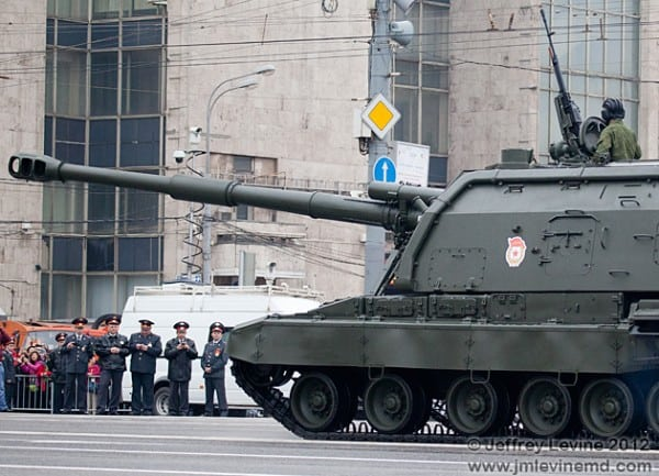 Victory day in moscow