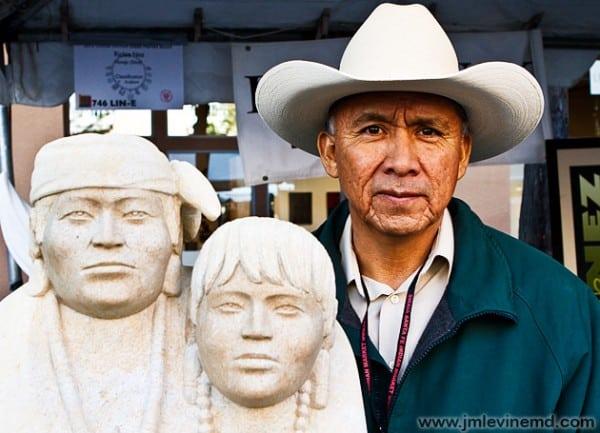 Santa fe, new mexico, indian market, Jeffrey-M-Levine-MD; Jeff-Levine, Dr-Jeffrey-Levine, Jlevinemd, levineartstudio, native American art