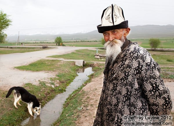 aging in central asia, kyrgyzstan