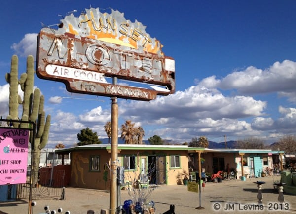Ghost-motels-arizona, Jeffrey-M-Levine-MD; Jeff-Levine, Dr-Jeffrey-Levine, Jlevinemd, levineartstudio, cactus, desert, ruins, deserted motel