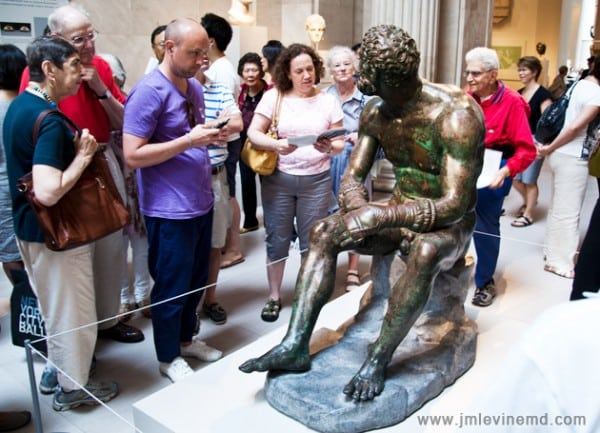 Jeffrey-M-Levine-MD; Jeff-Levine, Dr-Jeffrey-Levine, Jlevinemd, levineartstudio, metropolitan museum, greek art, bronze, medical history, museum