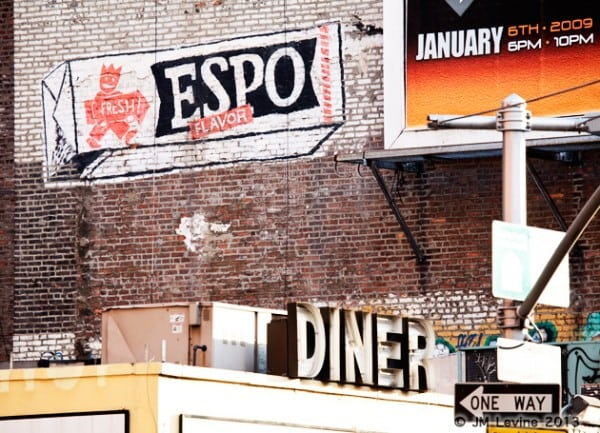 espo gum, signs of old new york, changing manhattan
