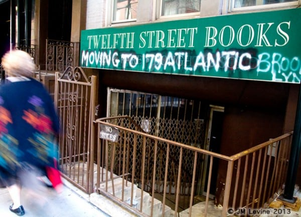 twelfth street books, signs of old new york, changing manhattan