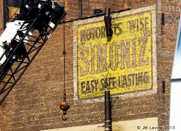 simoniz, signs of old new york, changing manhattan