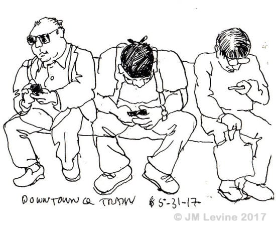nycurbansketchers, pen-and-ink, sketchbook, subway, nyc subway, metro, Jeffrey-M-Levine-MD; Jeff-Levine, Dr-Jeffrey-Levine, Jlevinemd, levineartstudio, manhattan, watercolor, urbansketchers