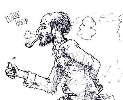 A Sketch of My Nobel Prize Winning Professor