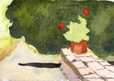 Jeffrey-M-Levine-MD; Jeff-Levine, Dr-Jeffrey-Levine, Jlevinemd, levineartstudio, , watercolor, pen and ink, urban sketching, rome, tuscany