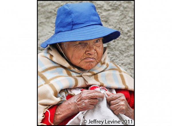 Aging in Bolivia Photograph by Jeffrey M Levine