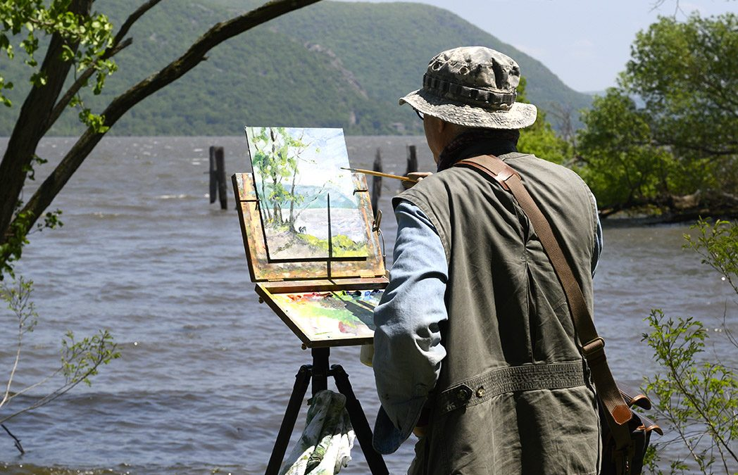 Plein Air Painting in the Hudson Valley