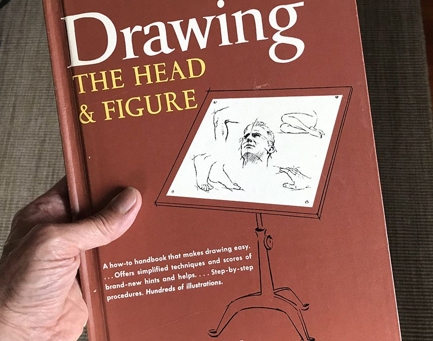 My Art Library:  Drawing the Head & Figure, by Jack Hamm