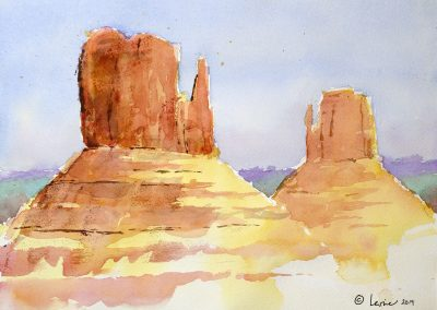 Making Art in Red Rock Country