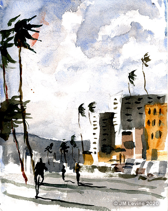 Venice Beach and Santa Monica Sketchbooks