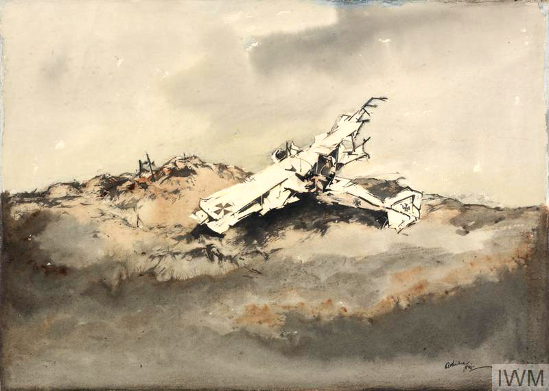 War sketch by Adrian Hill