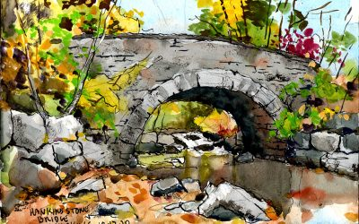 Painting the Historic Bridges of the Catskill Mountains