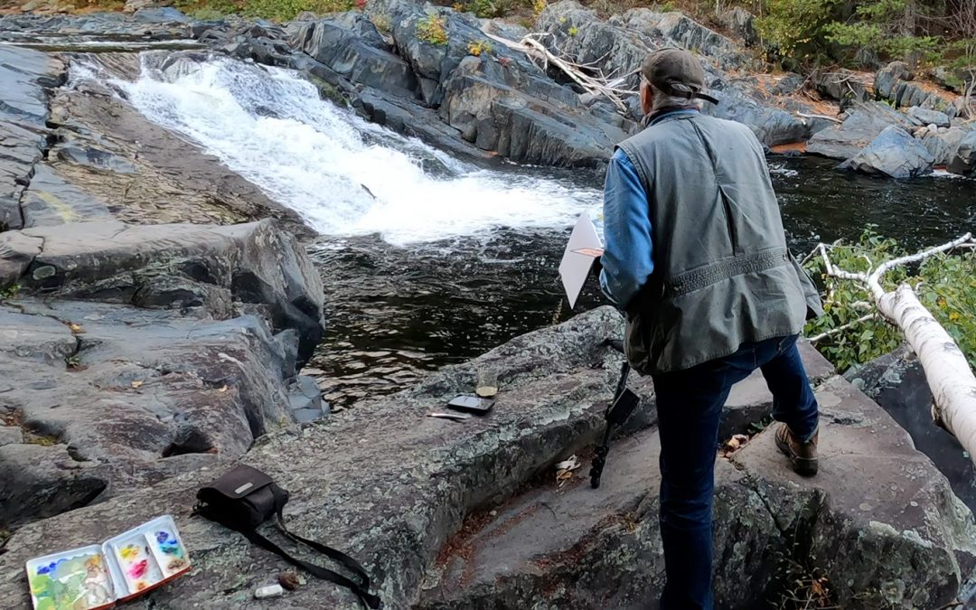 Capturing A Moment of Inspiration in Maine's North Woods