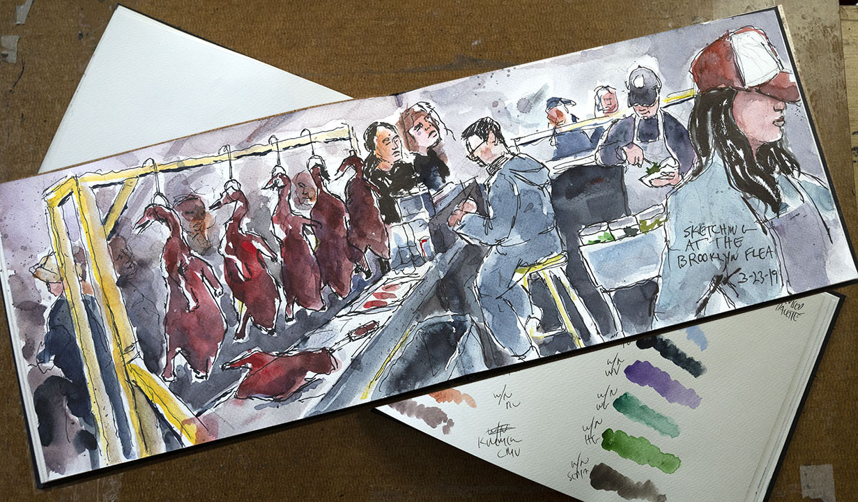 Fabriano Watercolor Sketchbook