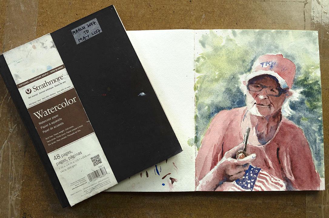 Strathmore Watercolor Sketchbook