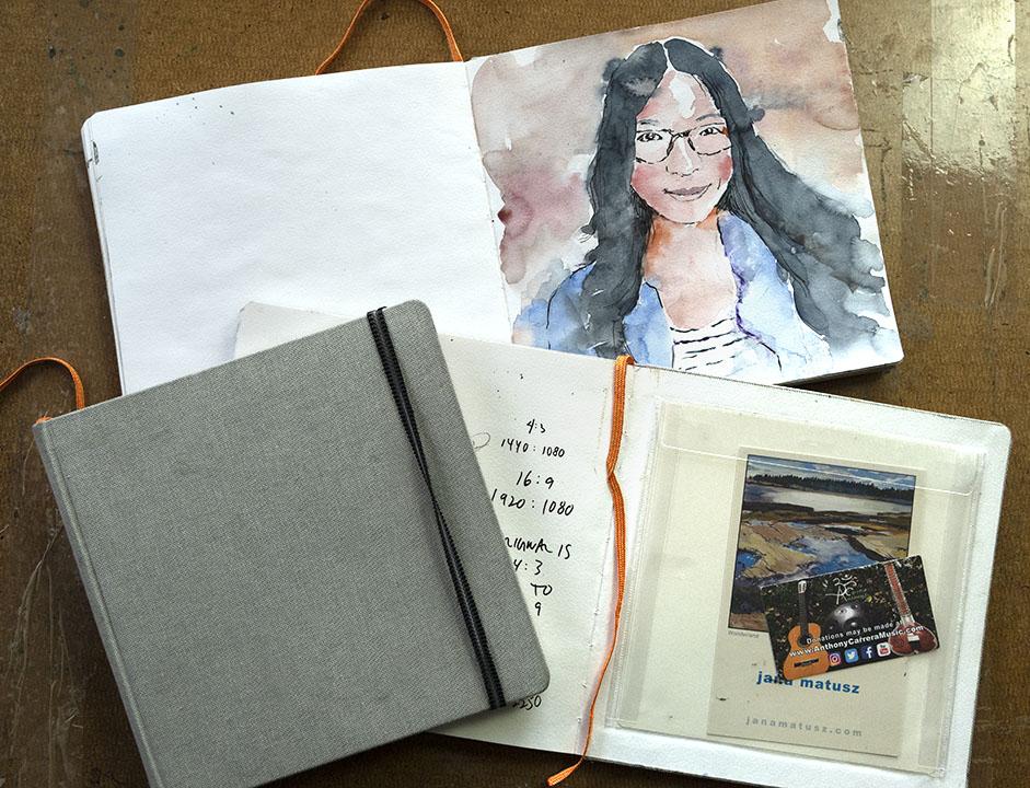 Hand Book Sketchbook