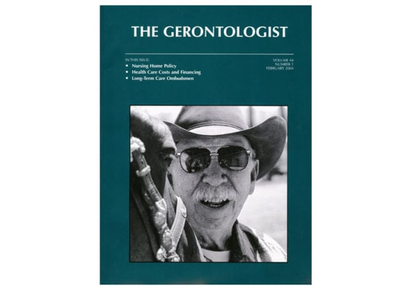 Aging on the Covers of The Gerontologist