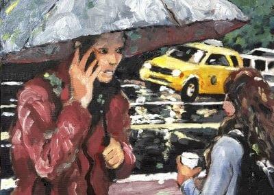oil painting Jeffrey M Levine MD
