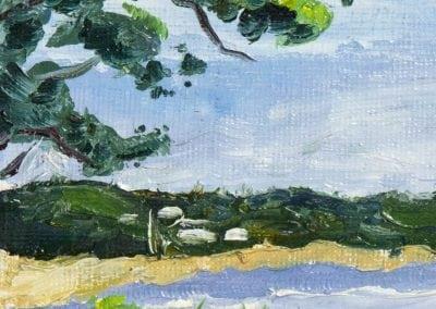 southwest harbor, maine, oils, oil painting