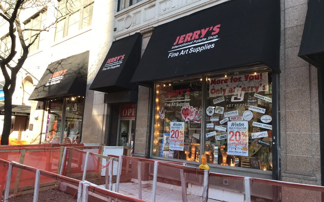 Another Art Supply Store Closes