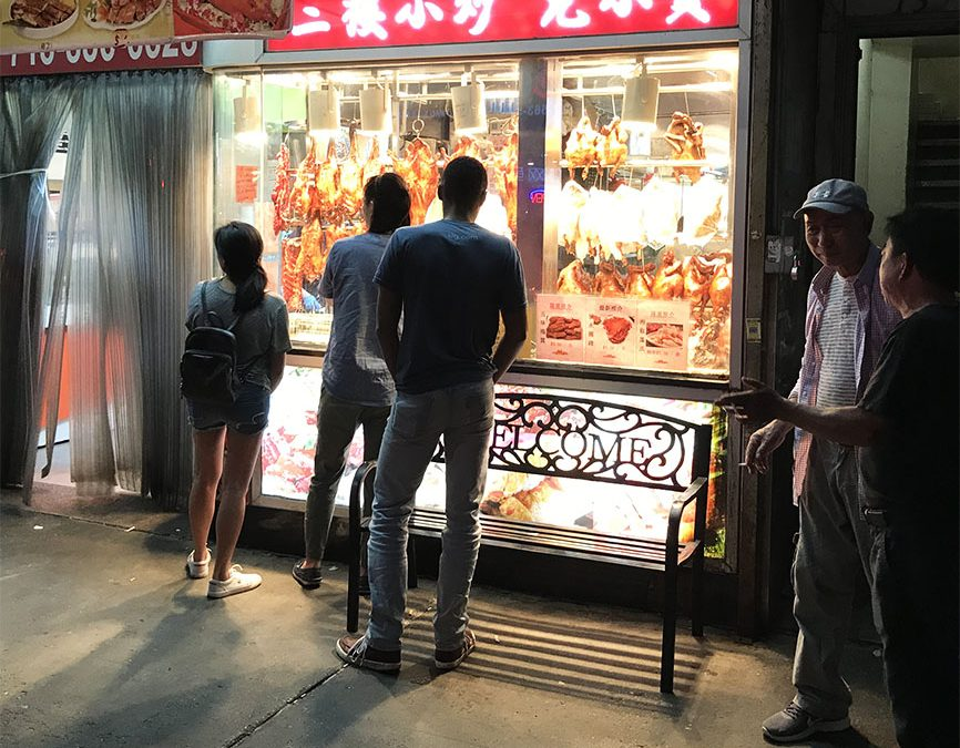 Urban Sketching & Asian Cuisine:  Adventuring in Flushing, Queens