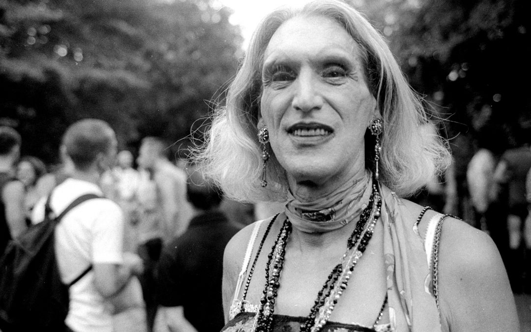 Photographing Wigstock in Tompkins Square Park, 2003