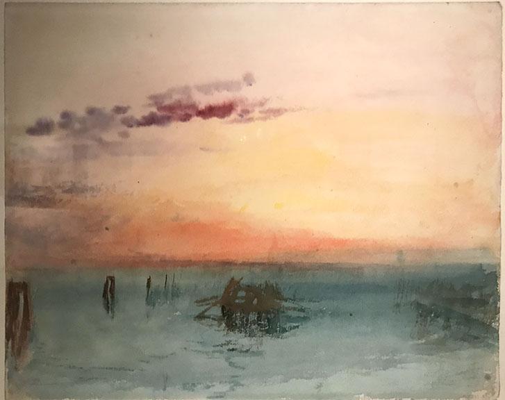 Turner Watercolors at the Mystic Seaport Museum