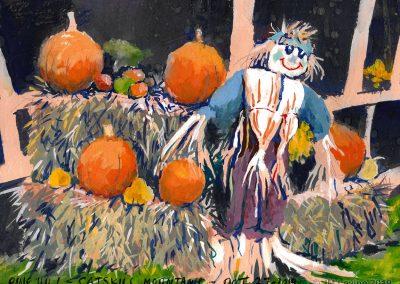 Pine Hill on Halloween